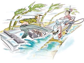 Boat Safer By Slowing Down