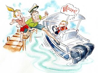 Boating Safely With Kids