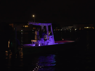 Boating safely at night